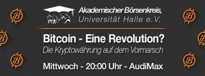 Blockchain & Bitcoins - How it works @ Audimax, MLU | Halle (Saale) | Sachsen-Anhalt | Deutschland